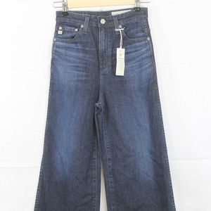 AG Yvette High Rise Wide Leg JeanS 25 NEW